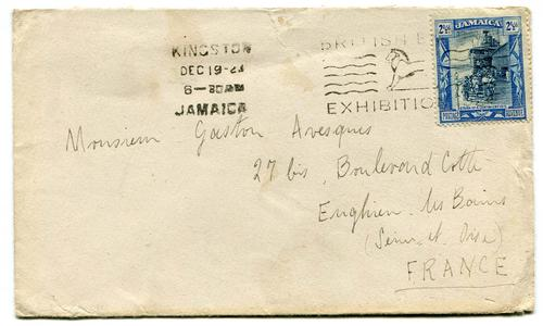 BRITISH EMPIRE EXHIBITION (JAMAICA)