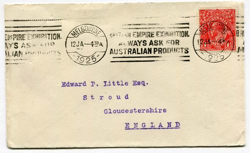 BRITISH EMPIRE EXHIBITION (AUSTRALIA)